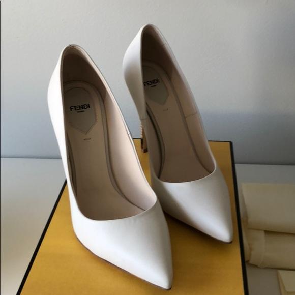 45c2ceacea Fendi Shoes | 100mm Anne Pointed Toe Pumps Brand New | Poshmark